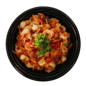 Tortellini with Sauce